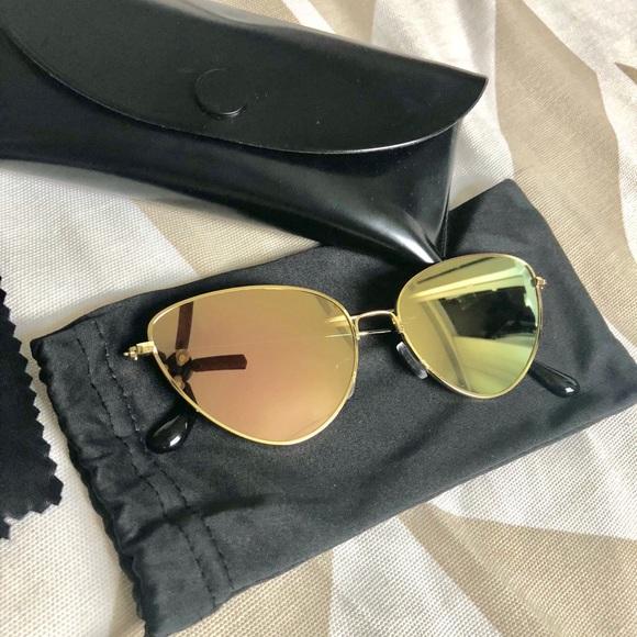 b301352dbe3 Abella Eyewear Rose Gold sunglasses